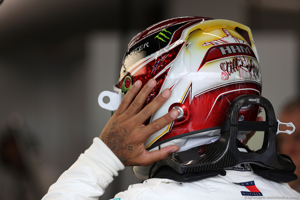 GP SINGAPORE, 20.09.2019 - Prove Libere 1, Lewis Hamilton (GBR) Mercedes AMG F1 W10