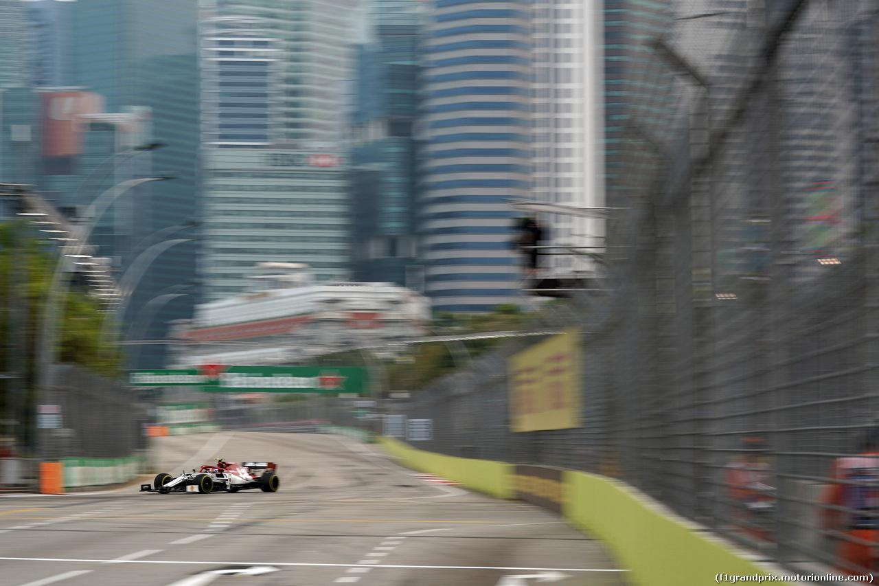 GP SINGAPORE, 20.09.2019 - Prove Libere 1, Antonio Giovinazzi (ITA) Alfa Romeo Racing C38
