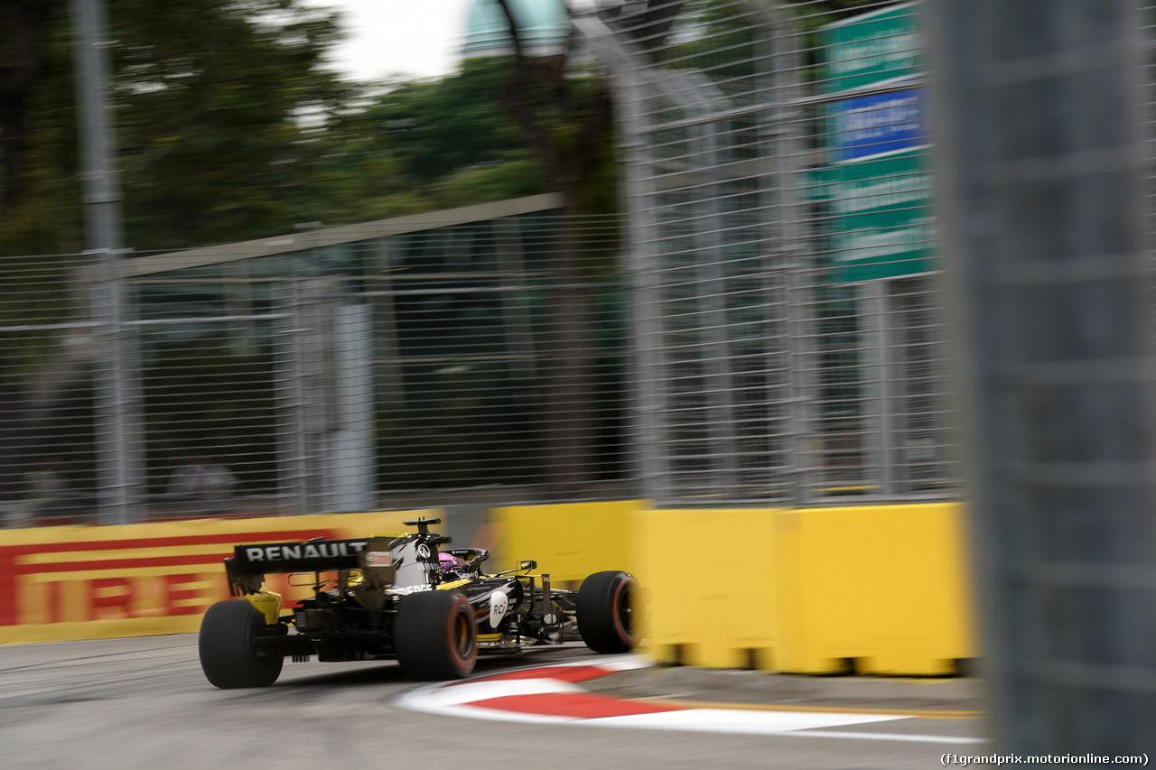 GP SINGAPORE, 20.09.2019 - Prove Libere 1, Daniel Ricciardo (AUS) Renault Sport F1 Team RS19