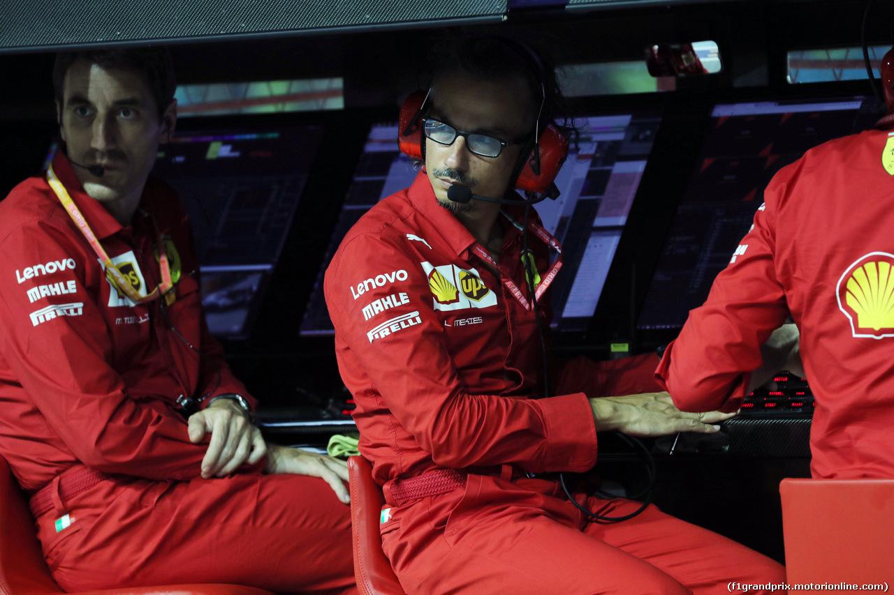 GP SINGAPORE, 20.09.2019 - Prove Libere 2, Laurent Mekies (FRA) Ferrari Sporting Director