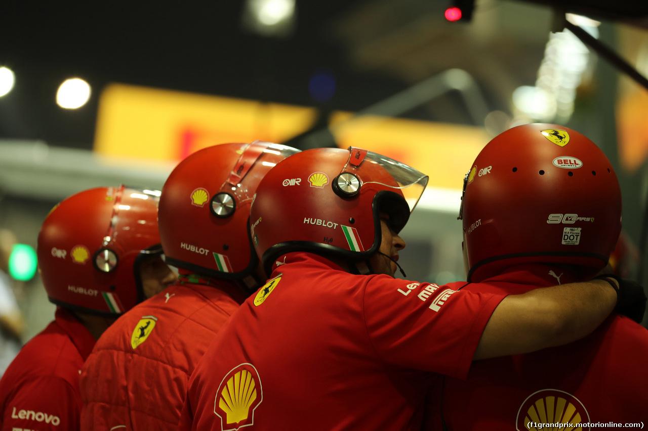 GP SINGAPORE, 20.09.2019 - Prove Libere 2, Ferrari meccanici