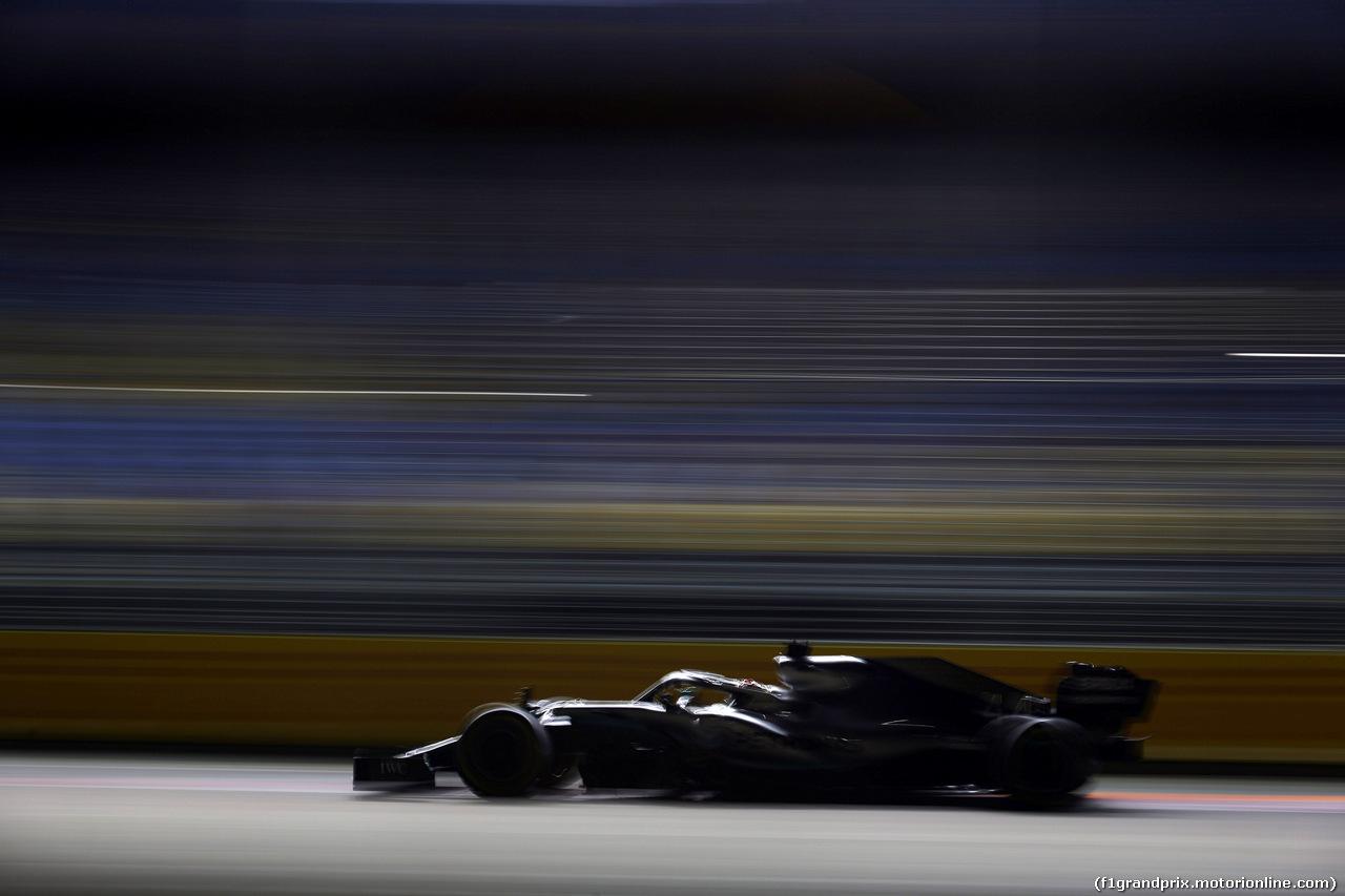 GP SINGAPORE, 20.09.2019 - Prove Libere 2, Lewis Hamilton (GBR) Mercedes AMG F1 W10