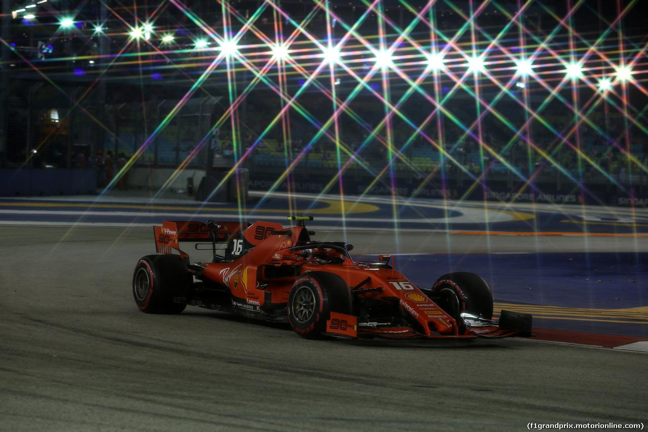 GP SINGAPORE, 20.09.2019 - Prove Libere 2, Charles Leclerc (MON) Ferrari SF90