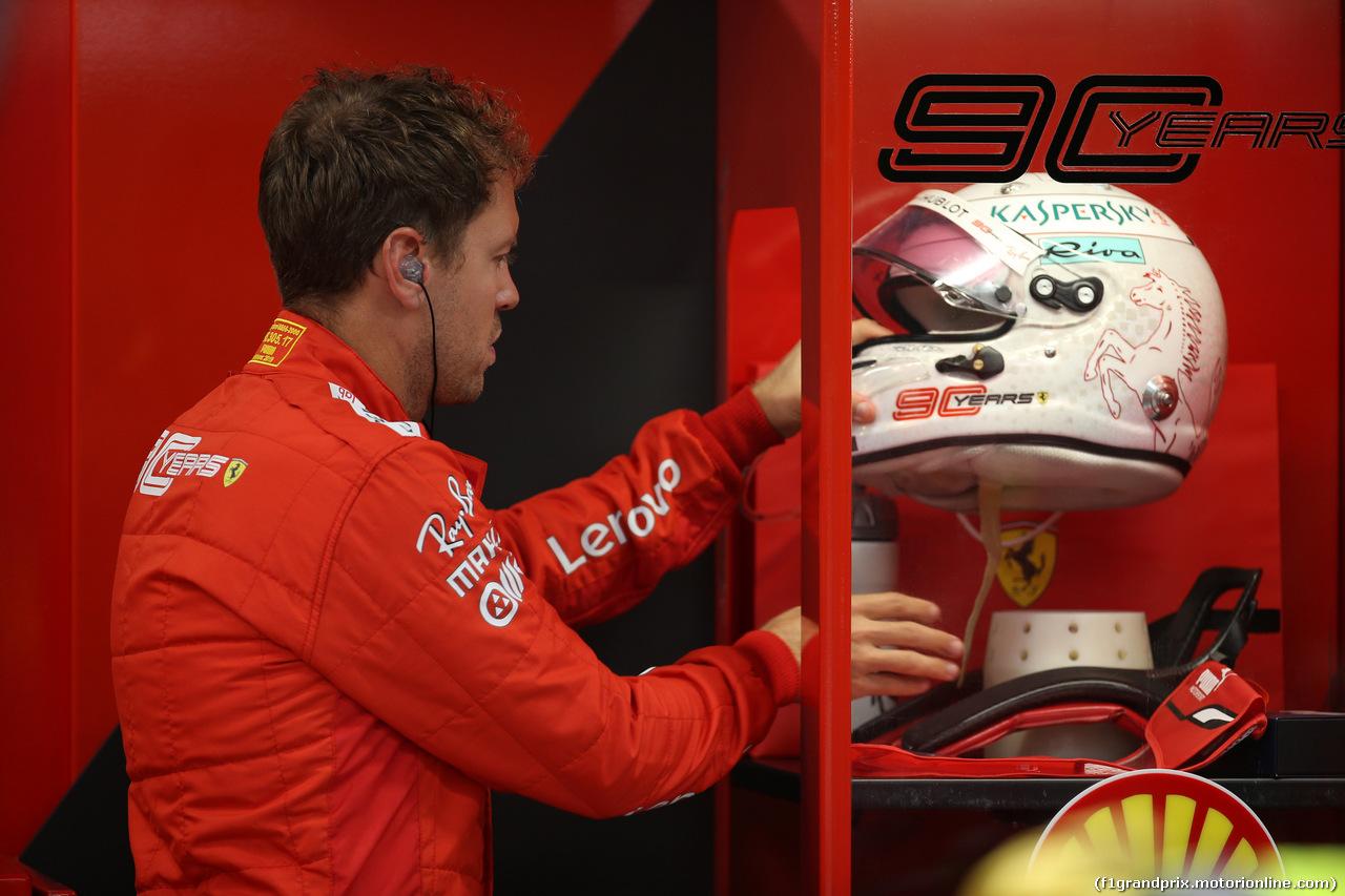 GP SINGAPORE, 20.09.2019 - Prove Libere 2, Sebastian Vettel (GER) Ferrari SF90