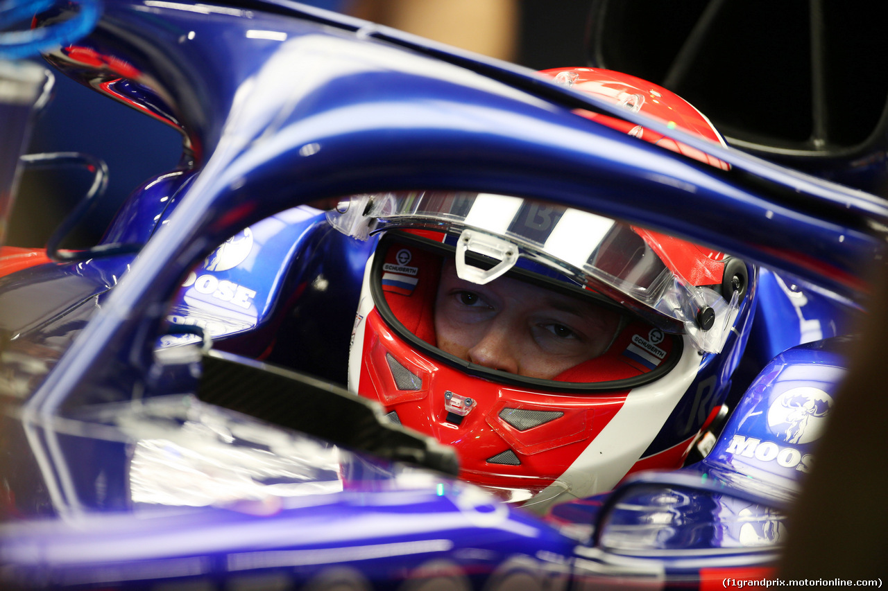 GP SINGAPORE, 20.09.2019 - Prove Libere 2, Daniil Kvyat (RUS) Scuderia Toro Rosso STR14