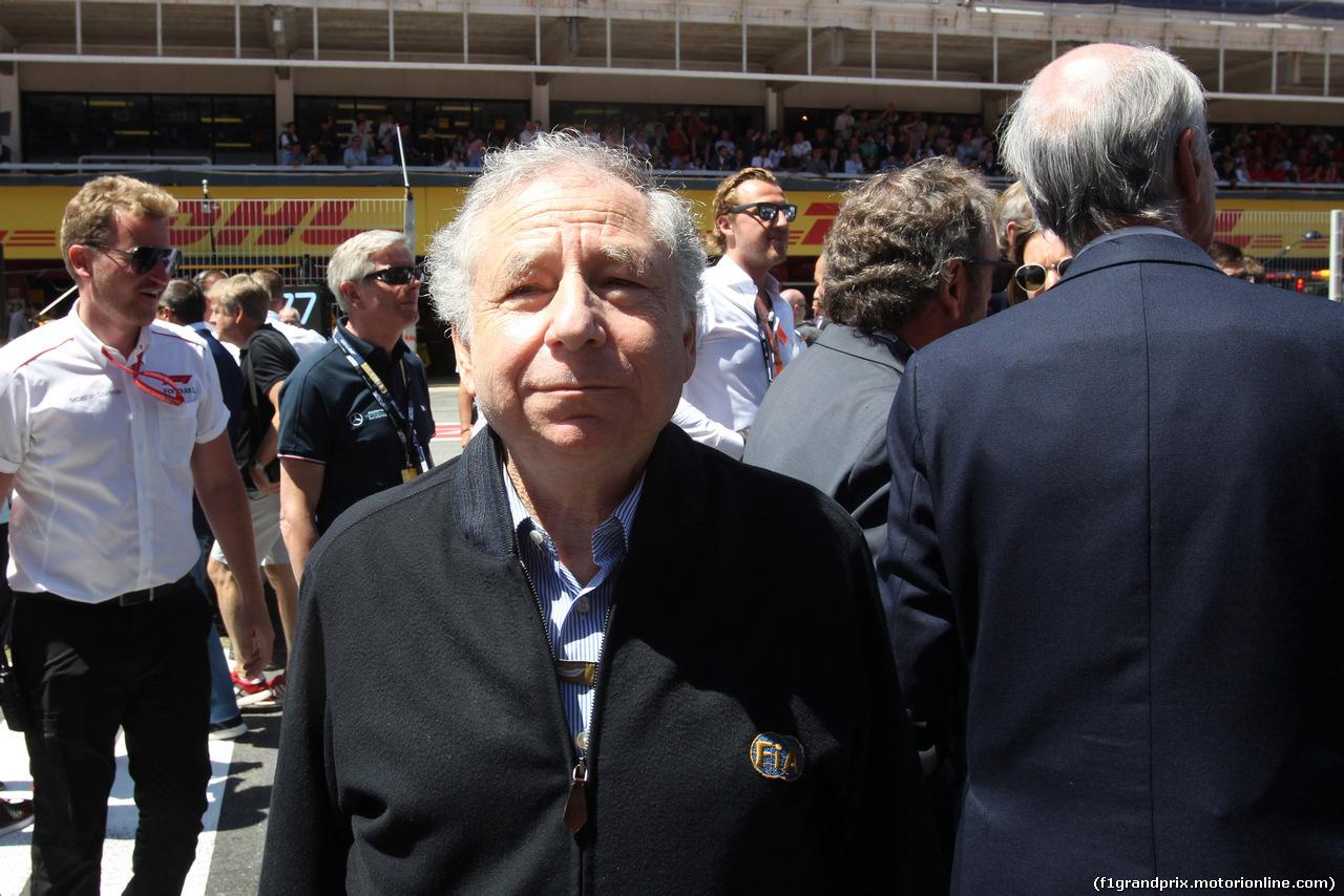 GP SPAGNA, 12.05.2019 - Gara, Jean Todt (FRA), President FIA