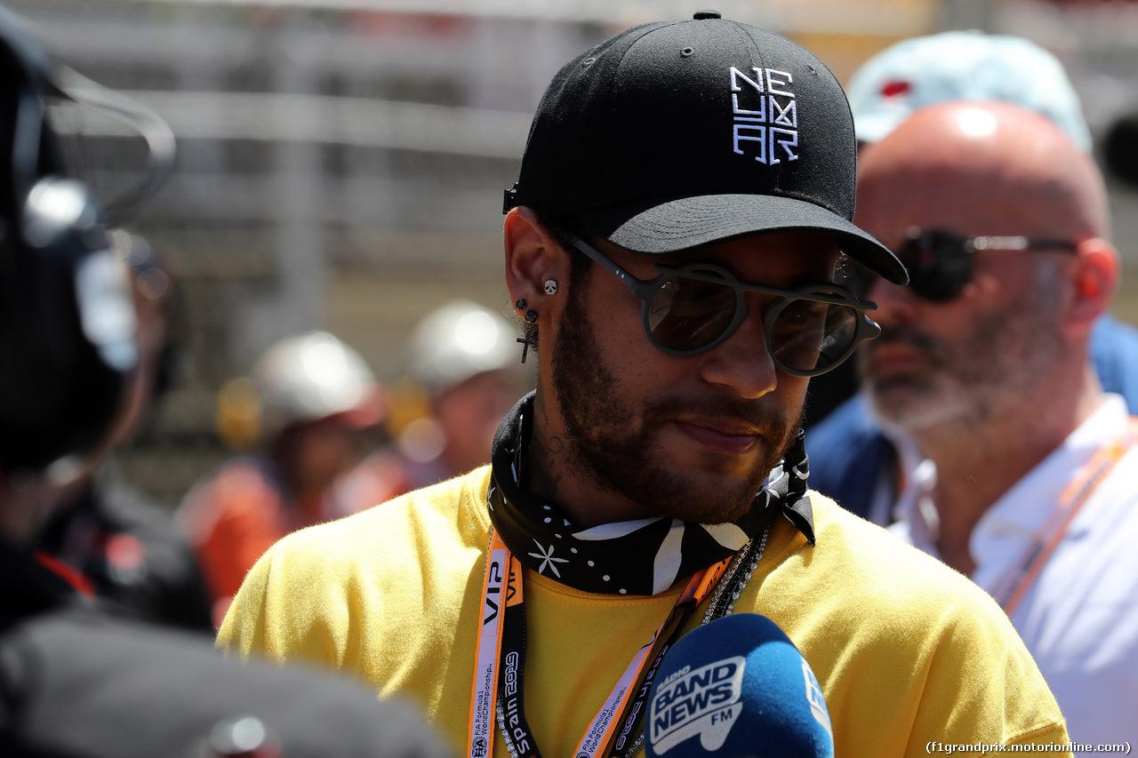 GP SPAGNA, 12.05.2019 - Gara, Neymar (BRA) football player of PSG