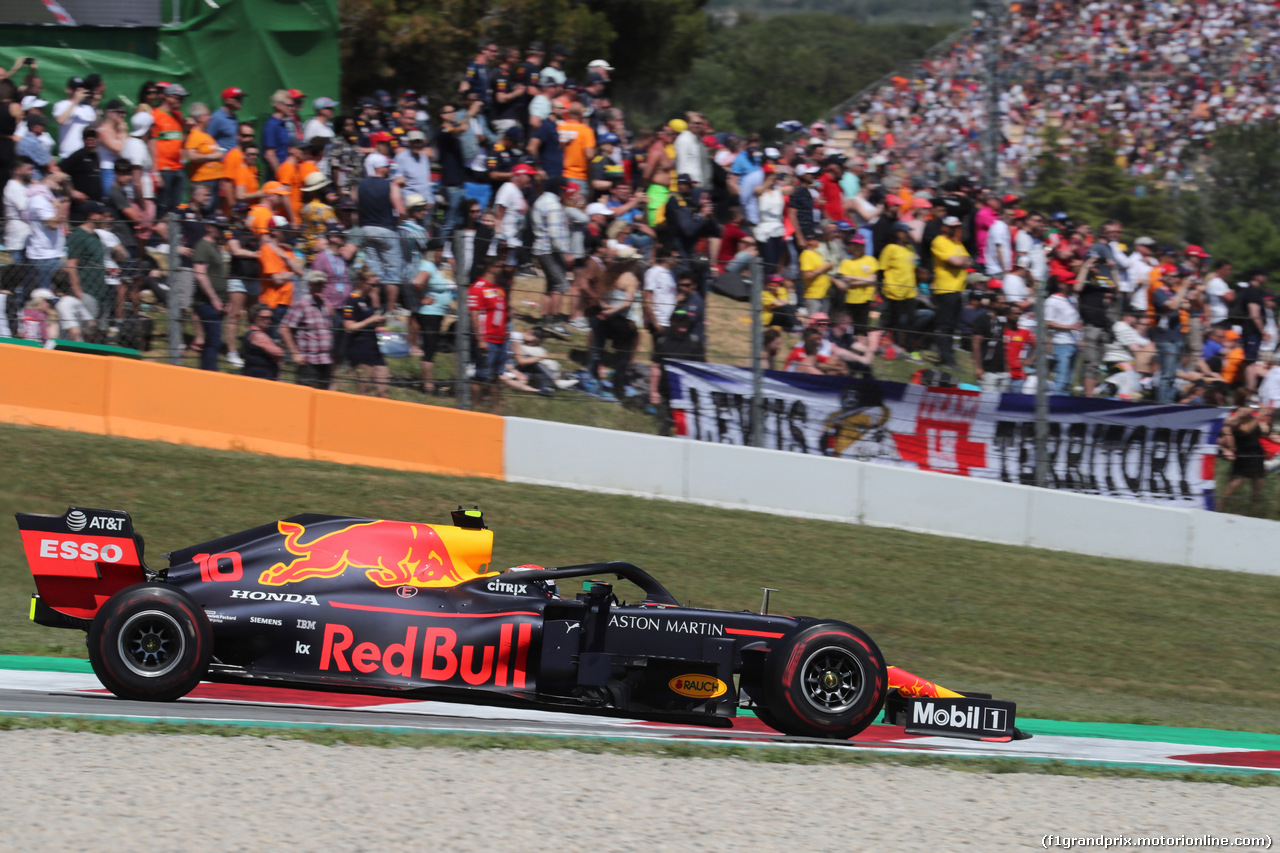 GP SPAGNA, 12.05.2019 - Gara, Pierre Gasly (FRA) Red Bull Racing RB15