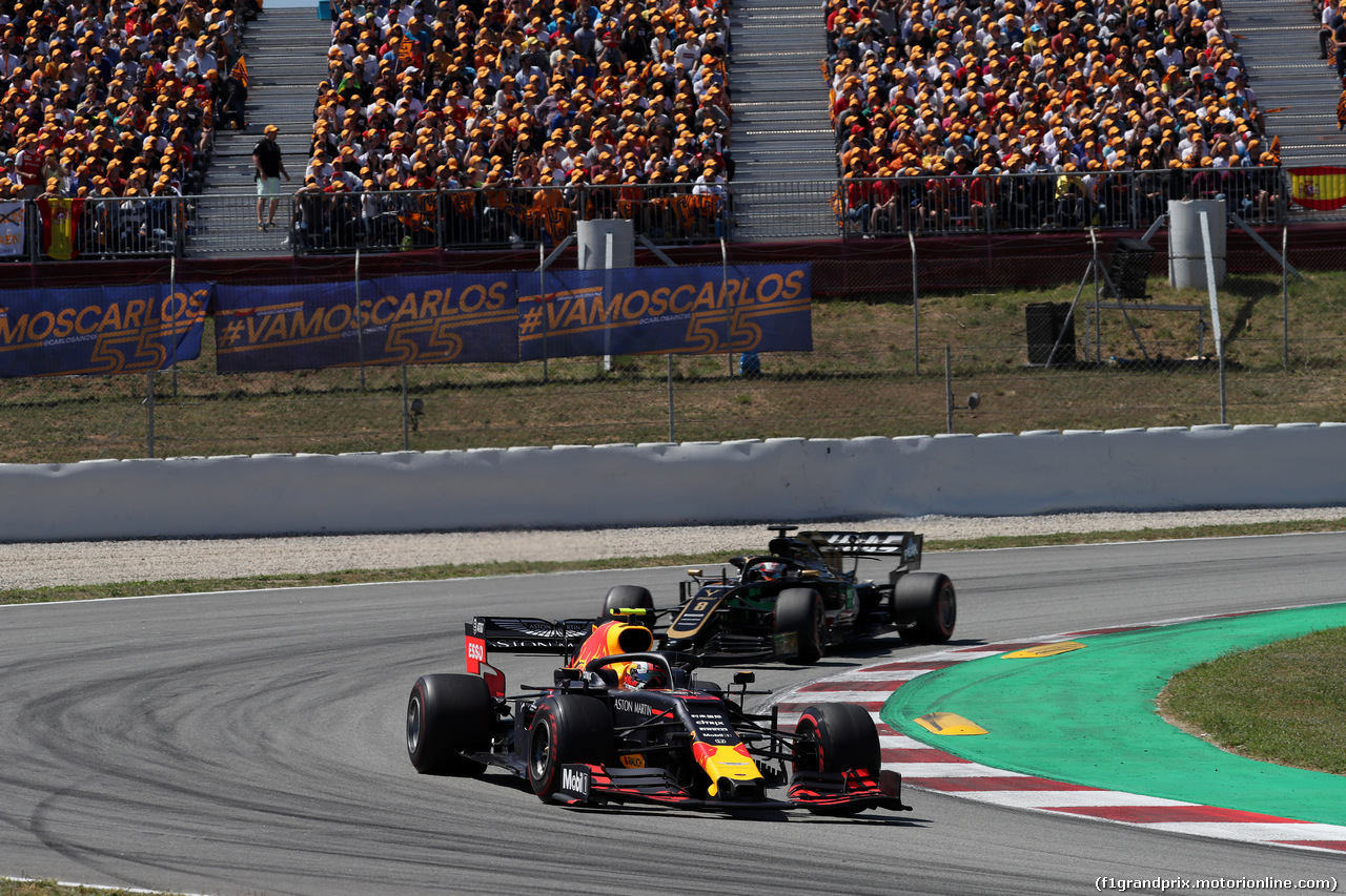 GP SPAGNA, 12.05.2019 - Gara, Pierre Gasly (FRA) Red Bull Racing RB15