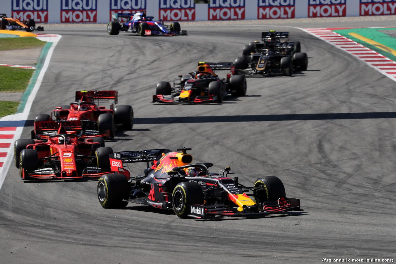 GP SPAGNA, 12.05.2019 - Gara, Max Verstappen (NED) Red Bull Racing RB15