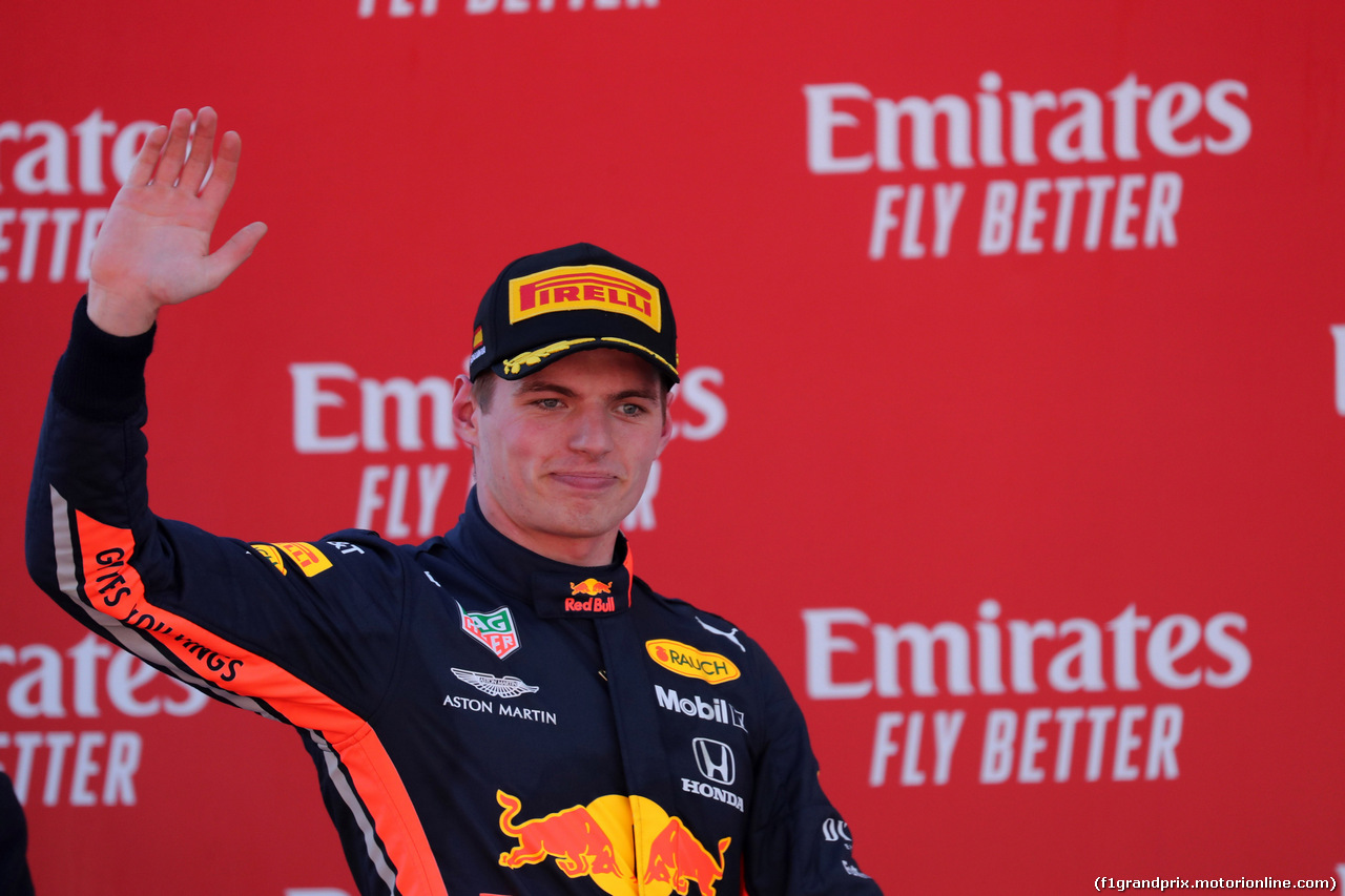 GP SPAGNA, 12.05.2019 - Gara, 3rd place Max Verstappen (NED) Red Bull Racing RB15
