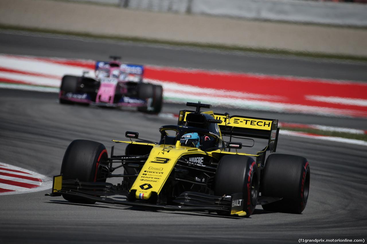 GP SPAGNA, 12.05.2019 - Gara, Daniel Ricciardo (AUS) Renault Sport F1 Team RS19