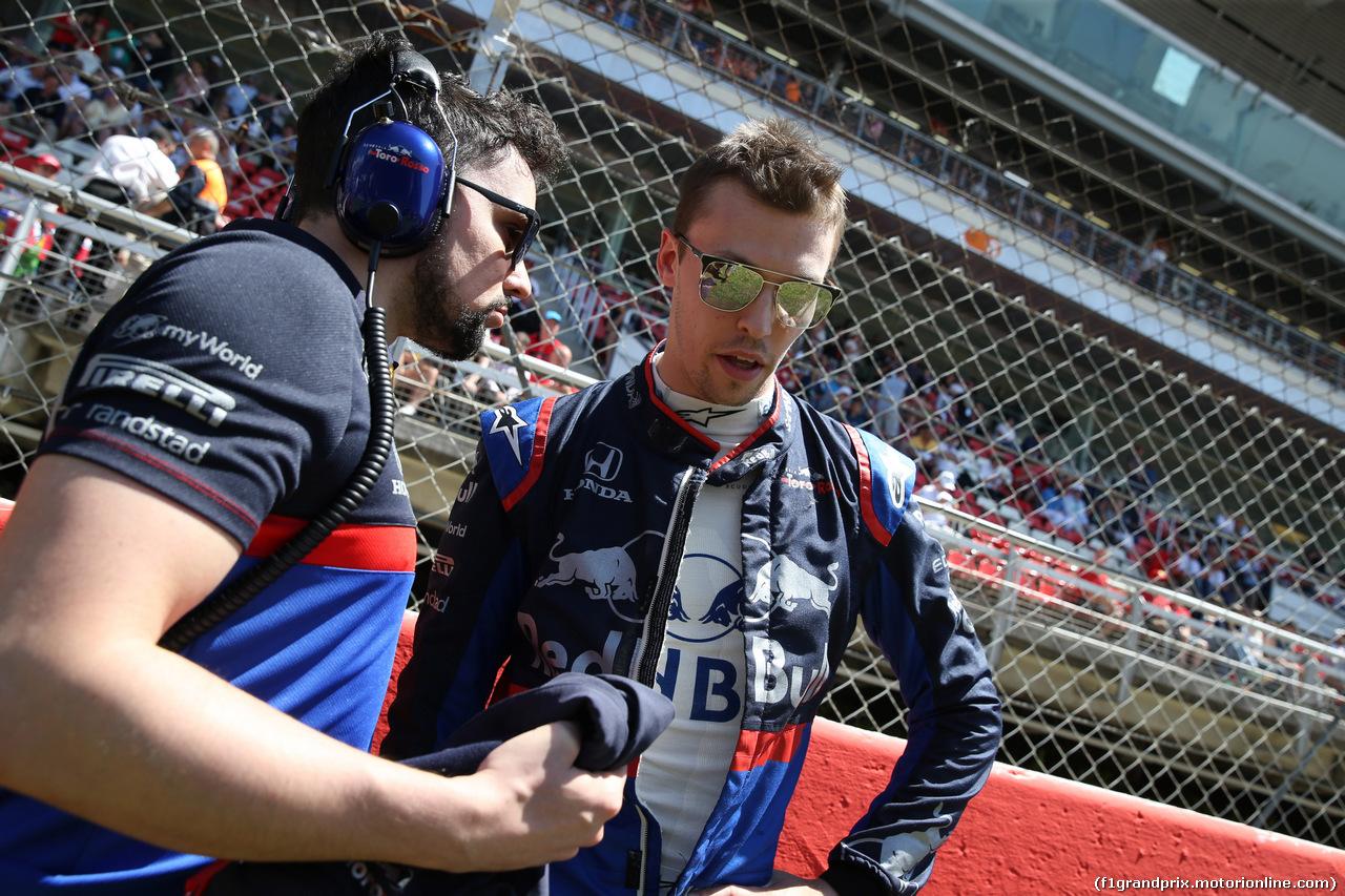 GP SPAGNA, 12.05.2019 - Gara, Daniil Kvyat (RUS) Scuderia Toro Rosso STR14