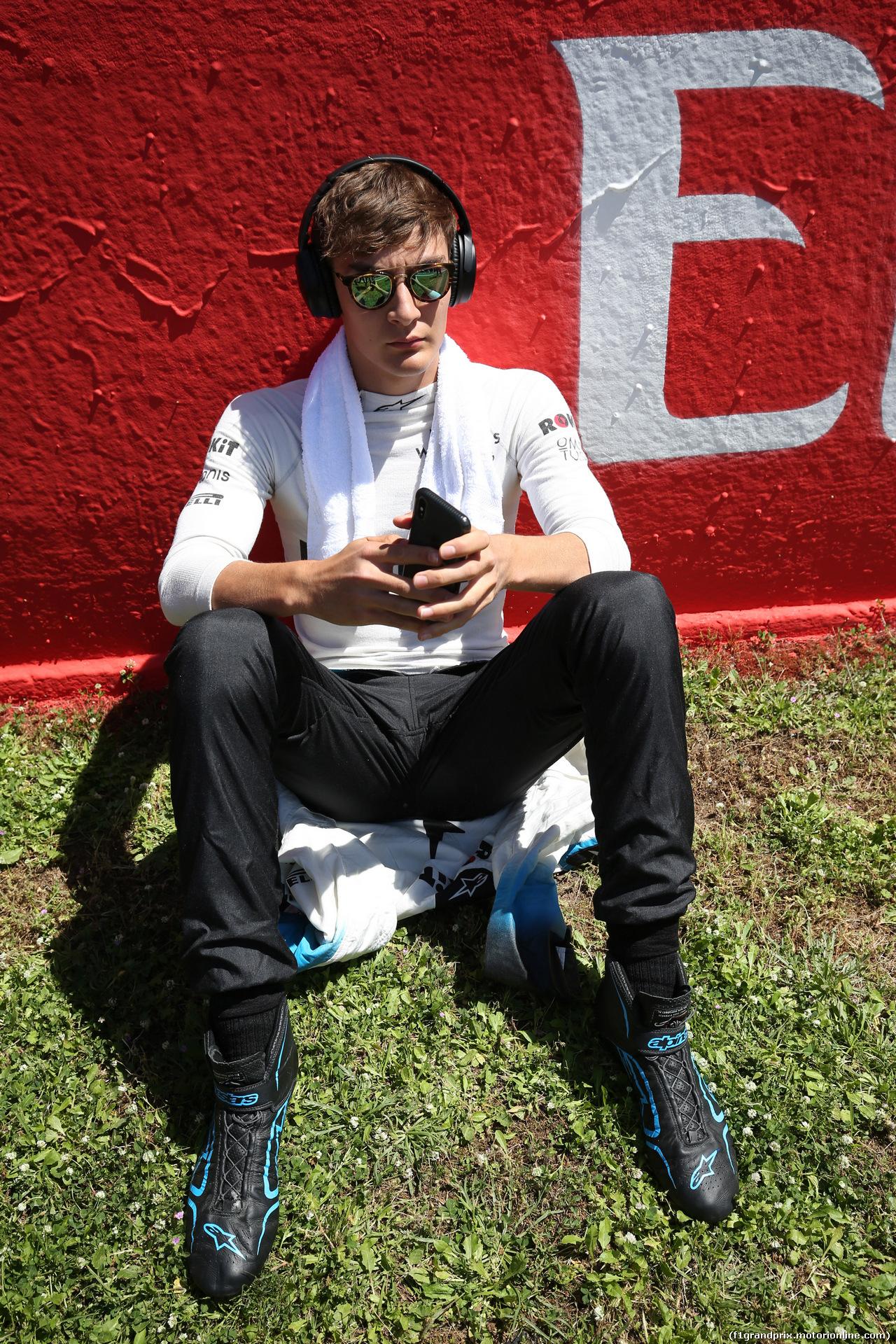 GP SPAGNA, 12.05.2019 - Gara, George Russell (GBR) Williams Racing FW42