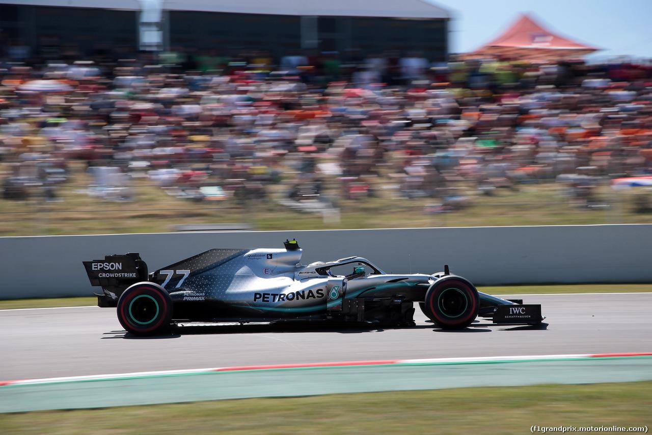 GP SPAGNA, 12.05.2019 - Gara, Valtteri Bottas (FIN) Mercedes AMG F1 W010