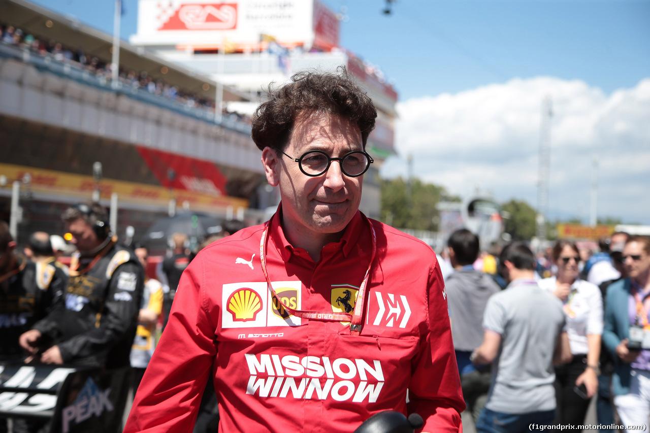 GP SPAGNA, 12.05.2019 - Gara, Mattia Binotto (ITA) Ferrari Team Principal