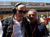 GP SPAGNA, 12.05.2019 - Gara, Mansour Ojeh, McLaren shareholder e Jean Alesi (FRA)