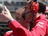 GP SPAGNA, 12.05.2019 - Gara, Sebastian Vettel (GER) Ferrari SF90 e Riccardo Adami (ITA) Ferrari Gara Engineer