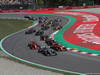 GP SPAGNA, 12.05.2019 - Gara, Start of the race, Valtteri Bottas (FIN) Mercedes AMG F1 W010 davanti a Charles Leclerc (MON) Ferrari SF90 e Sebastian Vettel (GER) Ferrari SF90