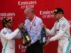 GP SPAGNA, 12.05.2019 - Gara, Lewis Hamilton (GBR) Mercedes AMG F1 W10 vincitore, Dr. Dieter Zetsche, Chairman of Daimler e 2nd place Valtteri Bottas (FIN) Mercedes AMG F1 W010