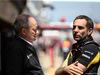GP SPAGNA, 12.05.2019 - Gara, Jerome Stoll (FRA) Renault Sport F1 President e Cyril Abiteboul (FRA) Renault Sport F1 Managing Director