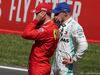 GP SPAGNA, 11.05.2019 - Qualifiche, 3rd place Sebastian Vettel (GER) Ferrari SF90 e Valtteri Bottas (FIN) Mercedes AMG F1 W010 pole position