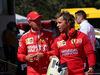 GP SPAGNA, 11.05.2019 - Qualifiche, Sebastian Vettel (GER) Ferrari SF90 e Antti Kontsas (FIN) Sebastian Vettel Personal Trainer