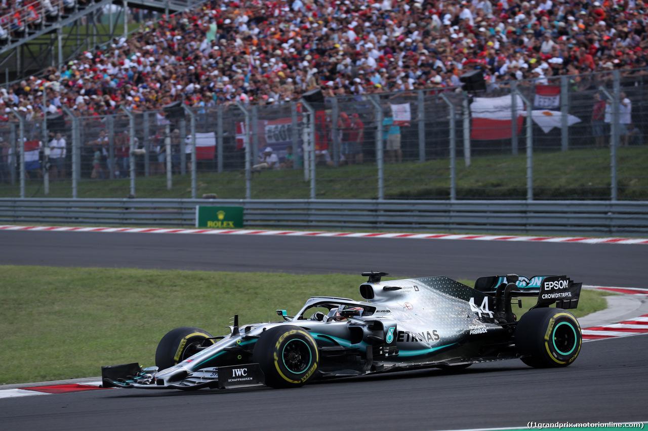 GP UNGHERIA, 04.08.2019 - Gara, Lewis Hamilton (GBR) Mercedes AMG F1 W10