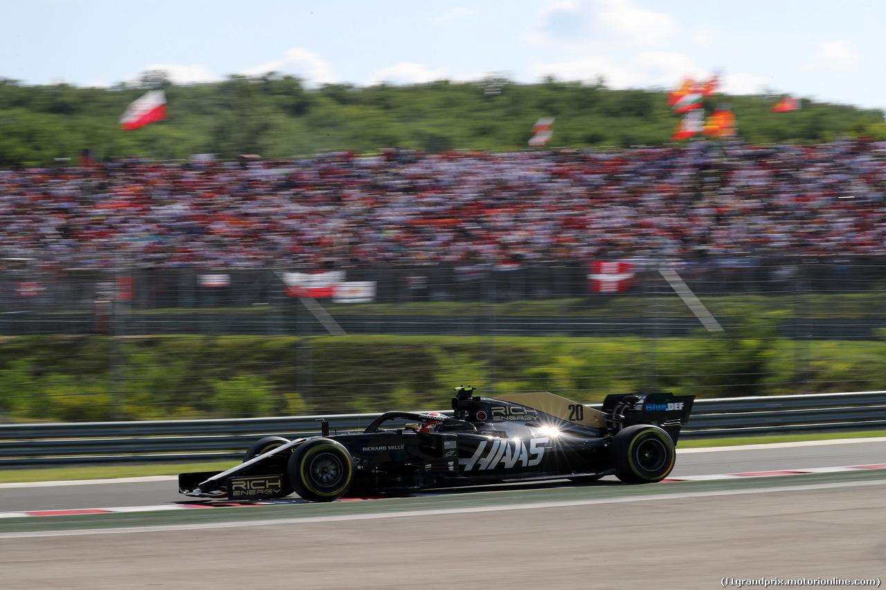 GP UNGHERIA, 04.08.2019 - Gara, Kevin Magnussen (DEN) Haas F1 Team VF-19