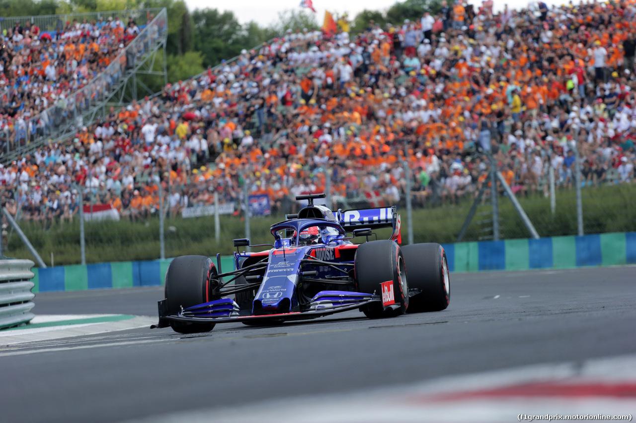 GP UNGHERIA, 04.08.2019 - Gara, Daniil Kvyat (RUS) Scuderia Toro Rosso STR14