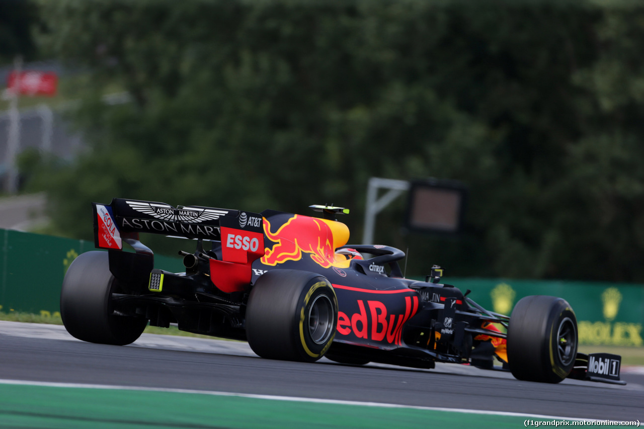 GP UNGHERIA, 04.08.2019 - Gara, Pierre Gasly (FRA) Red Bull Racing RB15