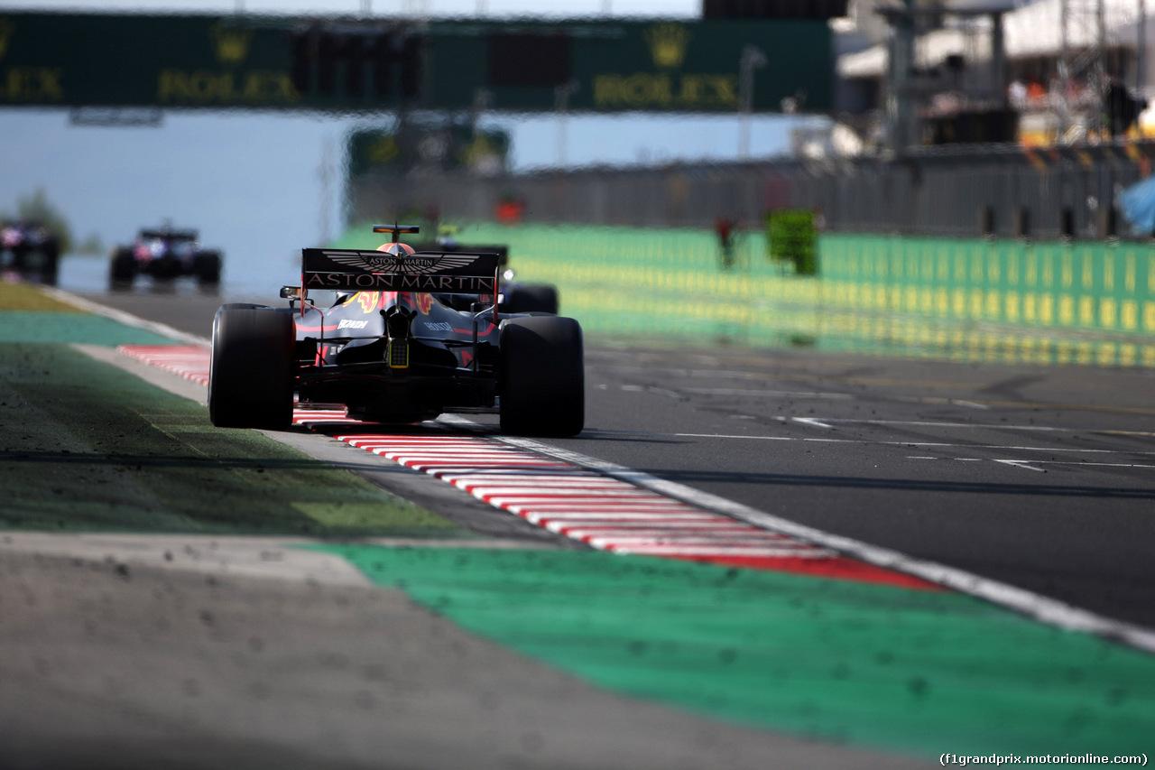 GP UNGHERIA, 04.08.2019 - Gara, Max Verstappen (NED) Red Bull Racing RB15
