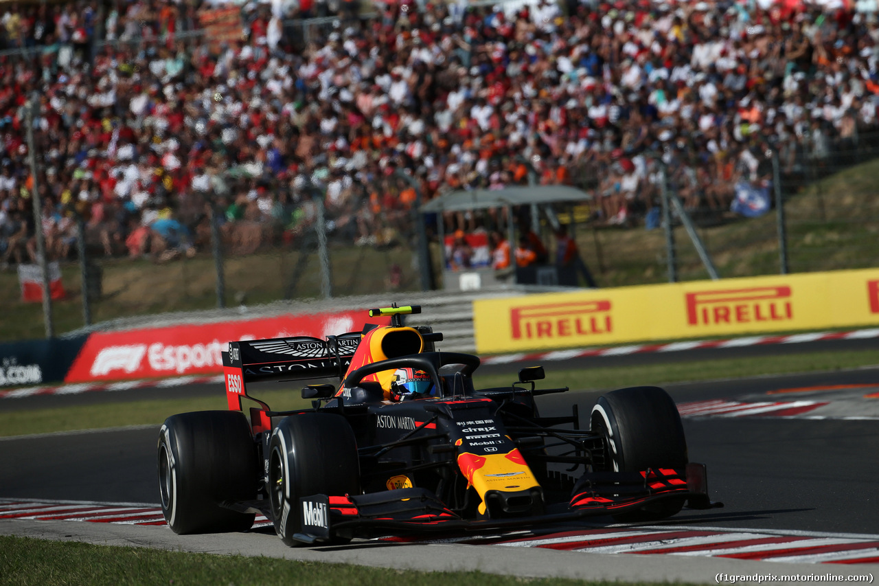 GP UNGHERIA, 04.08.2019 - Gara, Pierre Gasly (FRA) Red Bull Racing RB15