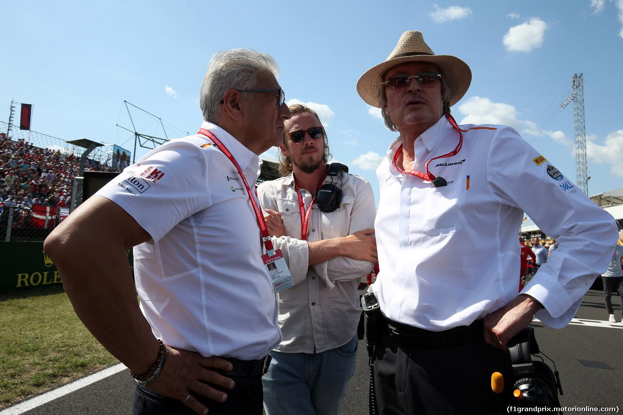 GP UNGHERIA, 04.08.2019 - Gara, Mansour Ojeh, McLaren shareholder