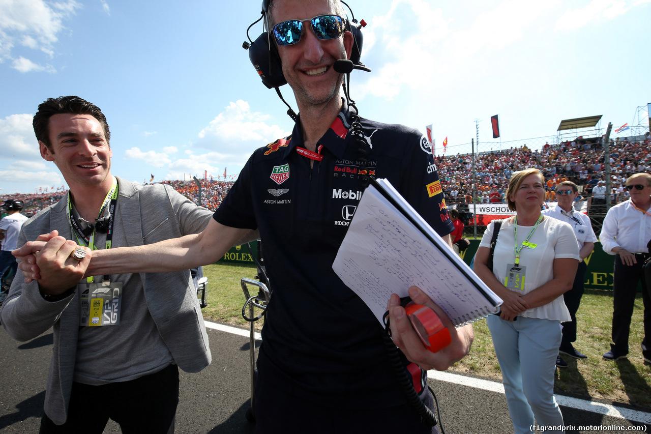 GP UNGHERIA, 04.08.2019 - Gara, Simon Pagenaud (FRA) Team Penske IndyCar Driver