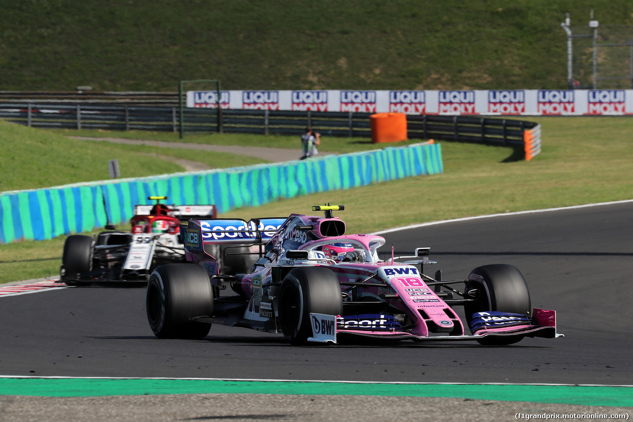 GP UNGHERIA, 04.08.2019 - Gara, Sergio Perez (MEX) Racing Point F1 Team RP19