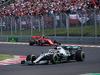 GP UNGHERIA, 04.08.2019 - Gara, Lewis Hamilton (GBR) Mercedes AMG F1 W10 davanti a Charles Leclerc (MON) Ferrari SF90