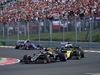 GP UNGHERIA, 04.08.2019 - Gara, Romain Grosjean (FRA) Haas F1 Team VF-19 e Nico Hulkenberg (GER) Renault Sport F1 Team RS19