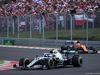 GP UNGHERIA, 04.08.2019 - Gara, Valtteri Bottas (FIN) Mercedes AMG F1 W010 davanti a Carlos Sainz Jr (ESP) Mclaren F1 Team MCL34