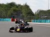 GP UNGHERIA, 04.08.2019 - Gara, Max Verstappen (NED) Red Bull Racing RB15 davanti a Lewis Hamilton (GBR) Mercedes AMG F1 W10