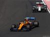 GP UNGHERIA, 04.08.2019 - Gara, Lando Norris (GBR) Mclaren F1 Team MCL34 e Kimi Raikkonen (FIN) Alfa Romeo Racing C38