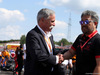 GP UNGHERIA, 04.08.2019 - Gara, Chase Carey (USA) Formula One Group Chairman e Toyoharu Tanabe (JPN) Honda Racing F1 Technical Director