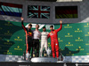 GP UNGHERIA, 04.08.2019 - Gara, 2nd place Max Verstappen (NED) Red Bull Racing RB15, Lewis Hamilton (GBR) Mercedes AMG F1 W10 vincitore e 3rd place Sebastian Vettel (GER) Ferrari SF90