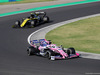 GP UNGHERIA, 04.08.2019 - Gara, Sergio Perez (MEX) Racing Point F1 Team RP19 davanti a Nico Hulkenberg (GER) Renault Sport F1 Team RS19