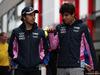 GP UNGHERIA, 02.08.2019 - Sergio Perez (MEX) Racing Point F1 Team RP19 e Lance Stroll (CDN) Racing Point F1 Team RP19