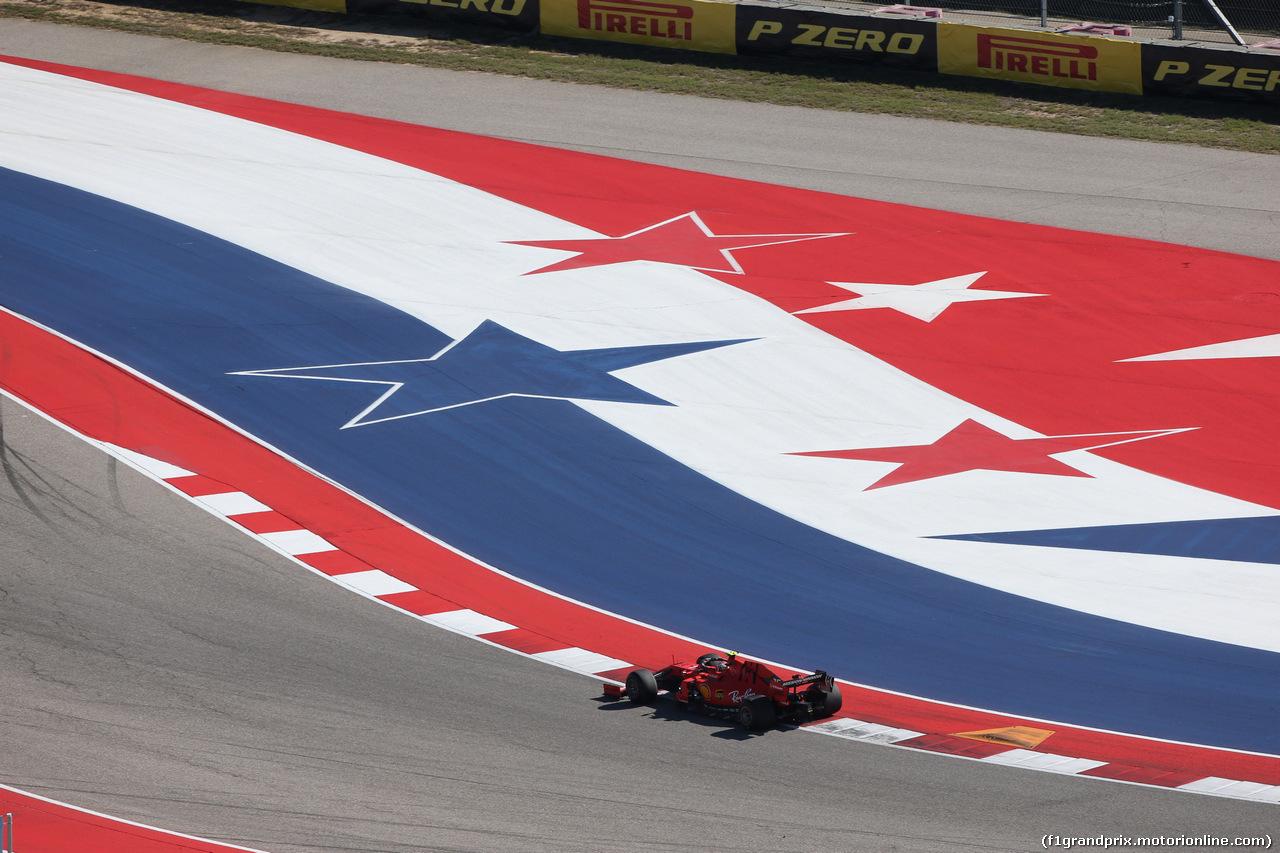 GP USA, 01.11.2019- free Practice 1, Charles Leclerc (MON) Ferrari SF90