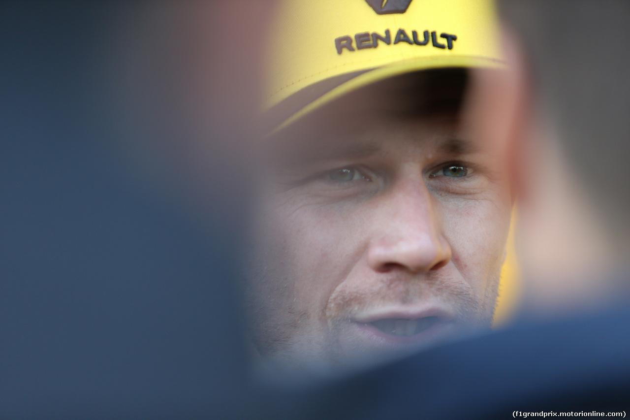 GP USA, 01.11.2019- Nico Hulkenberg (GER) Renault Sport F1 Team RS19