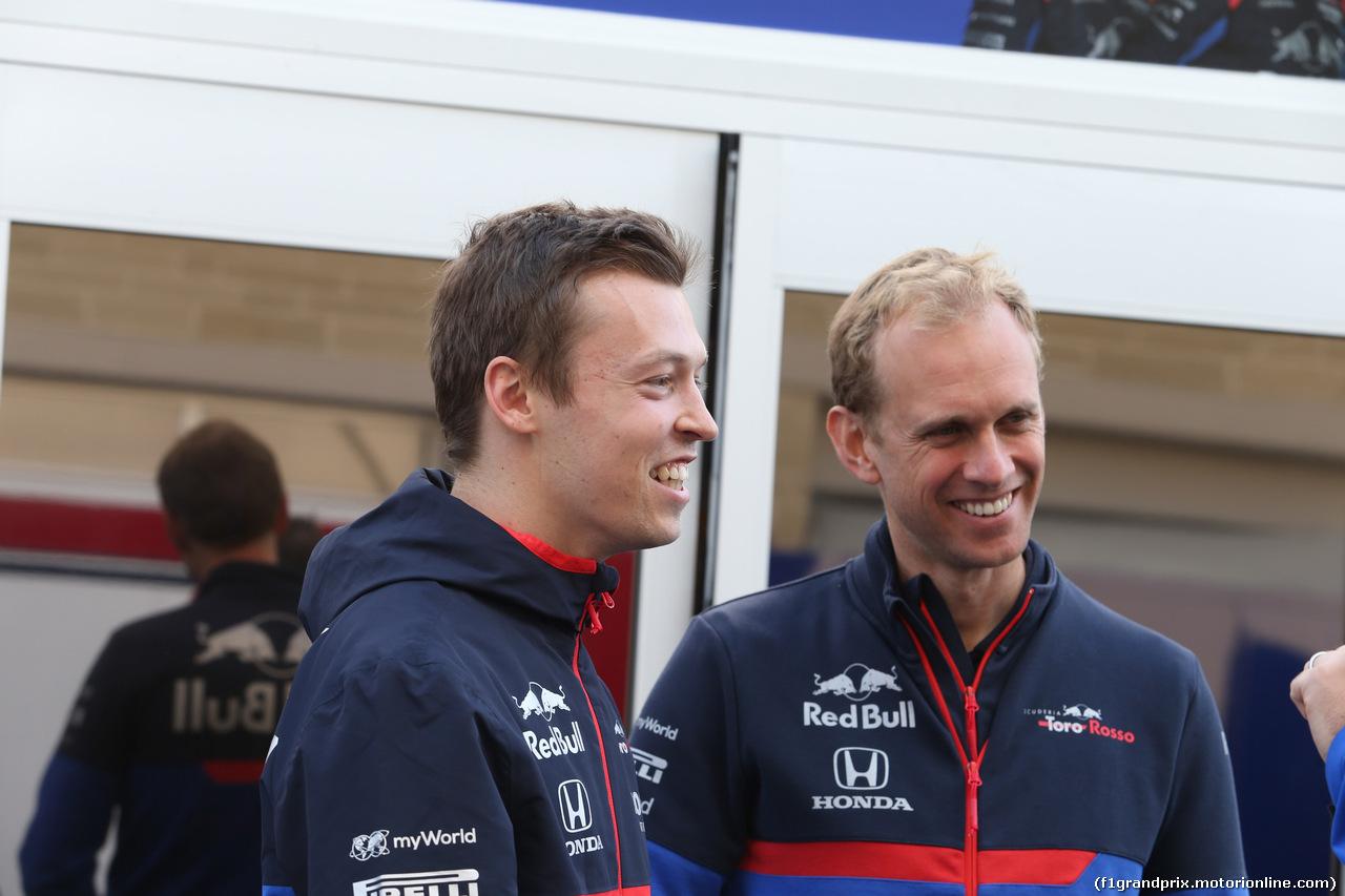 GP USA, 01.11.2019- Daniil Kvyat (RUS) Scuderia Toro Rosso STR14