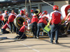 GP USA, 31.10.2019- Alfa Romeo Racing team pit stop practice