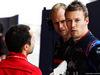 TEST F1 BAHRAIN 2 APRILE, Daniil Kvyat (RUS) Scuderia Toro Rosso with Nicolas Todt (FRA) Driver Manager. 02.04.2019.